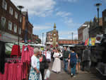 Ormskirk Market. (Click to enlarge)