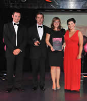Presentation of 'Best Self Catering' Award by Lancashire Tourist Board