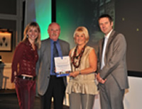 Highly Commended in Best Self-Catering category by Lancashire Tourism 2010
