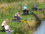Fishing on the Leeds-Liverpool Canal