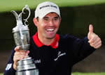 Padraig Harrington winner of the Open 2008